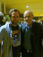 Bild: Der neue Referent für Öffentlichkeitsarbeit im OÖBGSV Bachlmayr Frank mit Toni Innauer