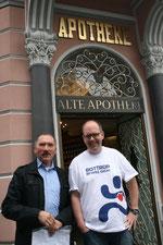 Dr. Erkrath mit Peter Stadtmann