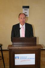OB Bernd Tischler bei seiner Ansprache