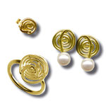 Wattwürmer aus Gold