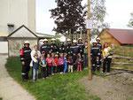 Übung im Landeskindergarten Zwingendorf