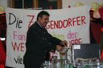 Beim Bieranstich - Ing. Manfred Schulz