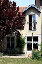 Terrasse du gîte vivalâne - Meuse - Lorraine