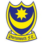 Das Wappen des Portsmouth Football Club