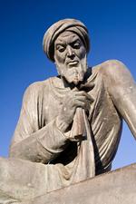 Statue de al-Khwarazmi à Khiva. (Raymond, 2007)