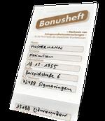 Bares Geld wert: Ihr Bonusheft! (© Doc S)