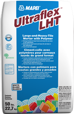 Mapei Ultraflex LHT thinset for large and heavy tiles, in stock daily at our Kent Showroom