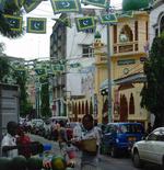 Straßenszene in Dar es Salaam