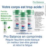 Pro Balance fournit une combinaison sélectionnée de sels minéraux basiques ! Aloe Vera Santé Beauté - LR Health Beauty