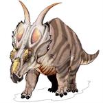 Bild eines Achelousaurus