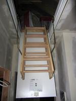 Dachbodentreppe mit sehr gutem U-Wert