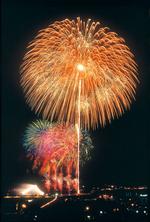 須賀川市釈迦堂川全国花火大会は、8/18の開催。