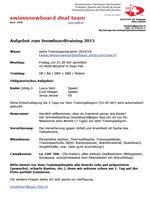 Aufgebot/Déploiement/Spiegamento