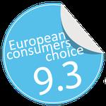 Sunda water tank awarded by european consumers choice