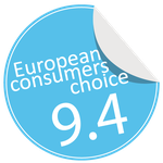NUD table lamp awarded by European Consumers Choice