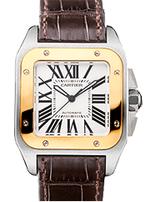 カルティエ 時計 サントス100 レディース 買取価格