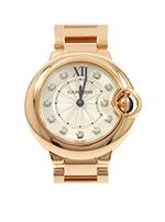カルティエ 時計 バロンブルー ピンクゴールド    買取価格