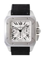 カルティエ 時計 サントス クロノグラフ 買取価格