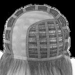 Bonnet de perruque monofilament sur la raie