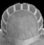 Bonnet de perruque monofilament + tresse
