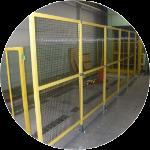 工場内の安全柵・防護柵