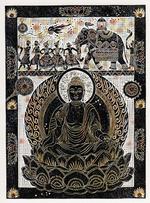 スリランカの仏陀像