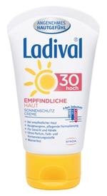 Ladival ® empfindliche Haut LSF50 Für Gesicht & Hände. Wasserfest.