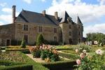 le logis de la Chaboterie vu des jardins