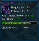 purple weapon