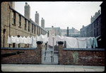"Princip Street, 'iimproved' back-to-back housing ie. with the front of the court removed for better ventilation, known locally as ""Nettlefold Courts"" after the chair of the Housing Committee.Photograph by Phyllis Nicklin - See Acknowledgements Keith Berry"