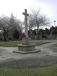 Yardley Cemetery war memorial