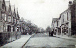 Stechford village, Albert Road - postcard available to buy from Dave Gregory's Postcards of the past website