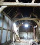 Primrose Hill Farm - barn interior