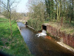 Plantsbrook is now culverted. The mill leat enters from the right.