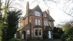 A fine Victorian house at the top of Four Oaks Road