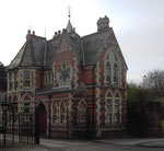 Yardley Cemetery lodge