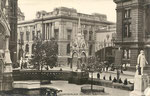 Chamberlain Square 1900 - postcard of unknown origin from the now defunct Virtual Brum website