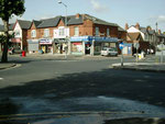 Local shops at the junction of Alum Rock Road and Belchers Lane. Geograph OS reference SP1187 © Copyright Carl Baker and licensed for reuse under Creative Commons Licence Attribution-Share Alike 2.0 Generic. See Acknowledgements for a link to Geograph.