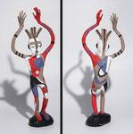 L'attrape-songes - 2011- 0,45 m -papier sculpté   (coll.part.)