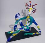 Le Rêveur éveillé - 2015 - papier sculpté - 0,40 m x 0,45 m