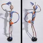 L'Homme ébloui - 2010 - papier sculpté (Coll. Part.)