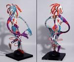 Vertigo - 2015- papier sculpté - 0,63 m- (coll. Part.)