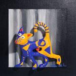 Le Chat qui s'étonne - 2014  (coll. Part.)