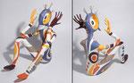 La rumeur du Monde - papier sculpté - 2011 (Coll. Part.)