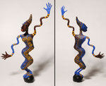 Diva Africa - 2005 -papier sculpté -  (Coll. Part.)