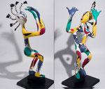 Danseur - 2016 - 0,61 m  papier sculpté