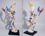 Esquisse - 2014 -papier sculpté  - 0,61 m (coll. Part.)
