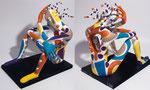 Orphée '- 2016 - 0,35 m-x 0,35 m  papier sculpté-(coll. Part.)