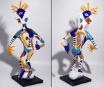 La sentinelle - 2015- papier sculpté - 0,55 m- (coll. Part.)
