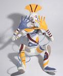 Le Pierrot Lunaire - 2012 -  0,30 m- papier sculpté  -(coll.part.)